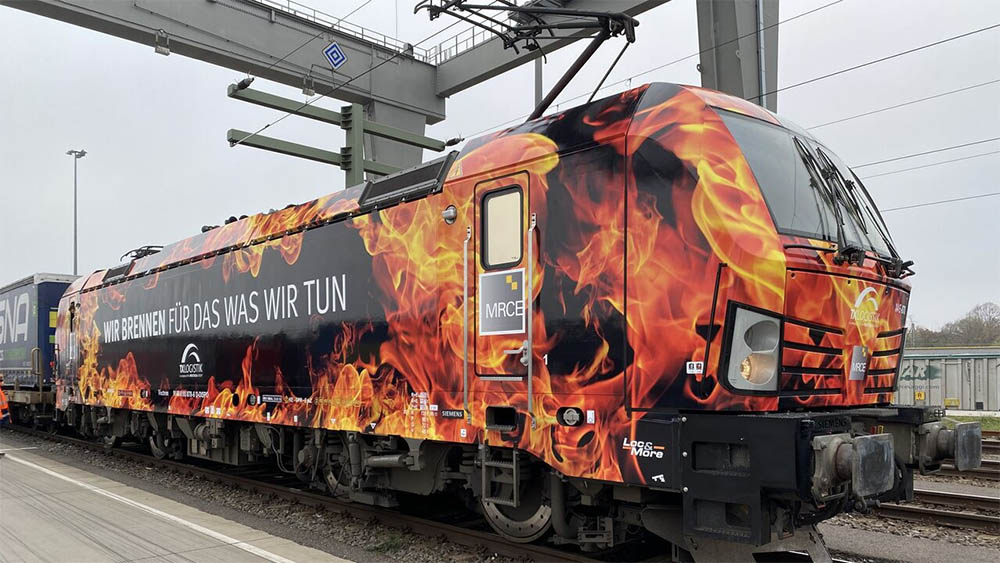 "Ferrovie: Una locomotiva ""in fiamme"" per TX Logistik"