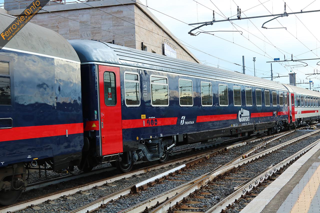 Ferrovie info gli interni delle nuove carrozze letto e - Trenitalia vagone letto ...