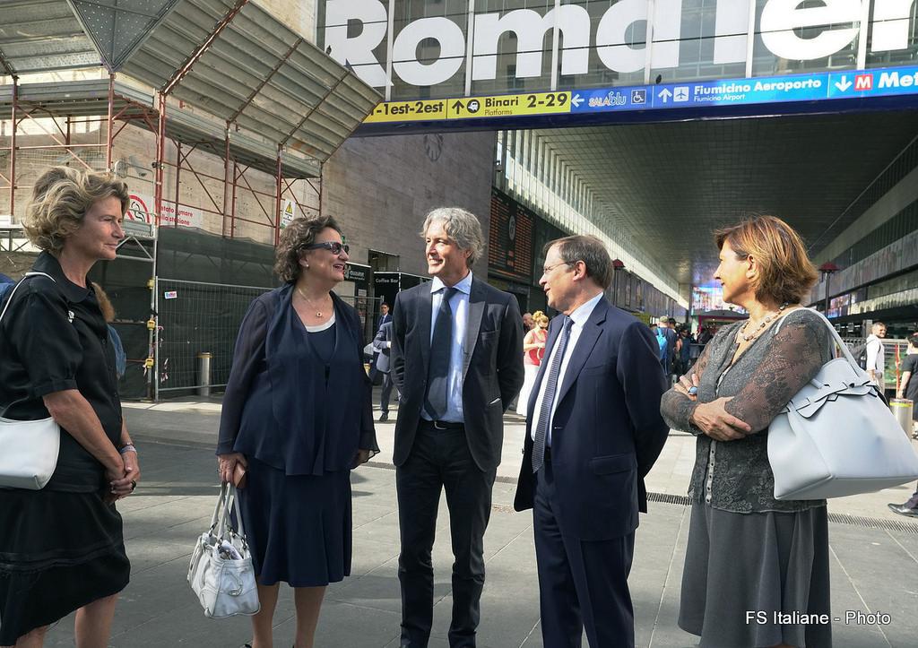Ferrovie Info Ferrovie A Roma Completata La Terrazza