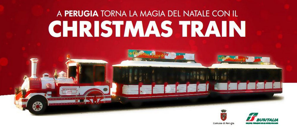 A Perugia torna il Christmas Train di Busitalia