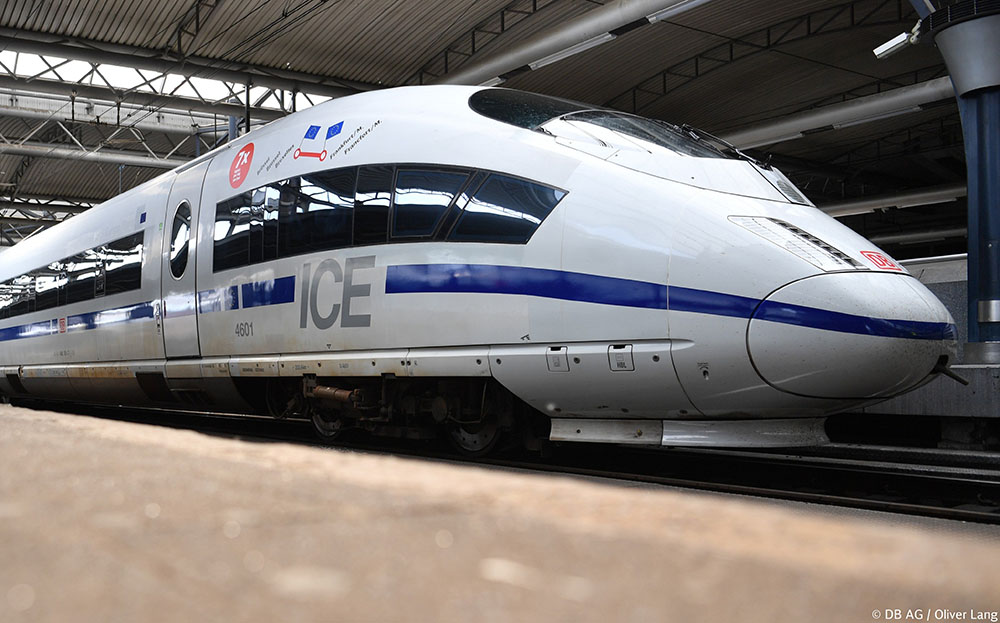 Ferrovie: dalle DB un ICE 3 dedicato all'Europa [VIDEO]